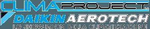 Logo Climaproject rivenditore daikin rimini aerotech