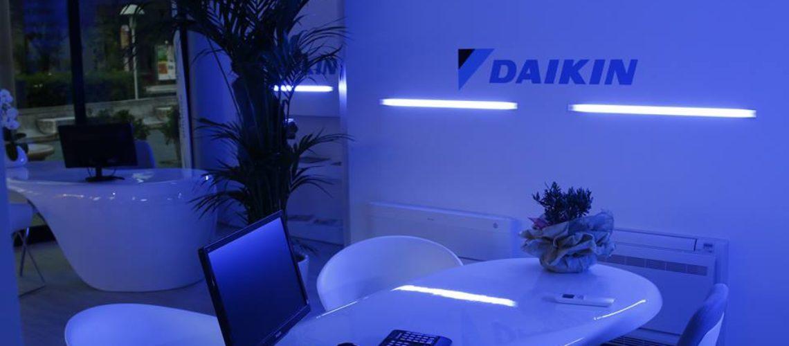 Climaproject rivenditore daikin rimini aerotech showroom